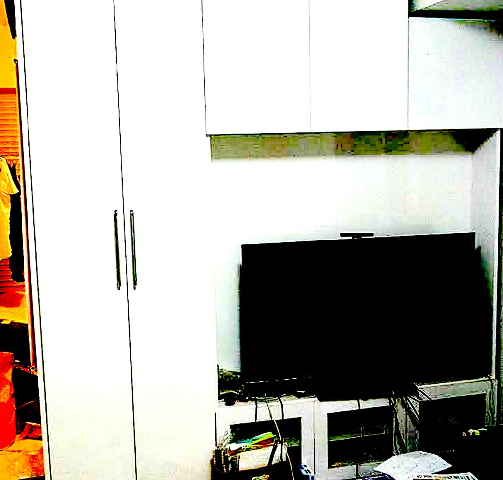 マンション備え付け家具の撤去
